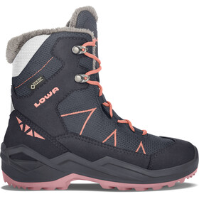 Lowa Jonas GTX Mid Shoes Youth navy/coral